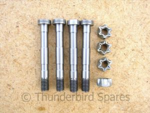 Big End Bolt and Nut, Set,Triumph T100 & T140/TR7 1960-1987, 70-9914, 60-3761, UK Made
